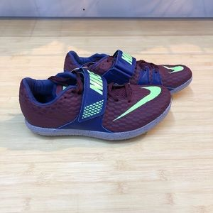 Nike Zoom Elite High Jump shoes Mens Size 10